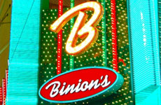 Binion's Gambling hall and Hotel Las Vegas
