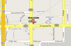 Click to enlarge MGM Grand Las Vegas map