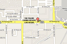 Palms casino las vegas map size of gambling industry