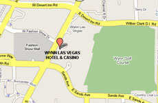 Click to enlarge Wynn Las Vegas map